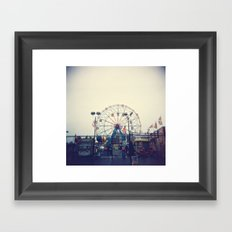 Coney Island II Framed Art Print