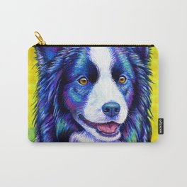 Watchful Eye -  Border Collie Dog Carry-All Pouch