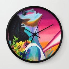 Pneum Echo Wall Clock