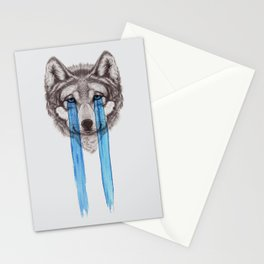 Don't Cry Wolf Stationery Cards
