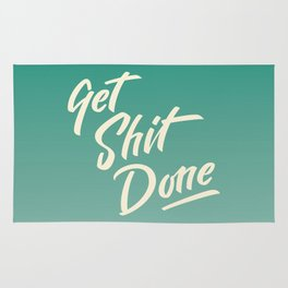 Get Sh*t Done Rug
