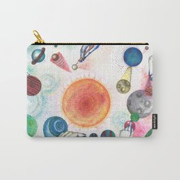 the universe in dots (pointillism) Carry-All Pouch