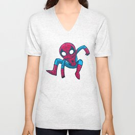 Does whatever a spider can! Unisex V-Neck