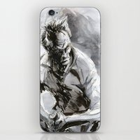 clint eastwood iPhone & iPod Skins featuring Clint Eastwood by onez