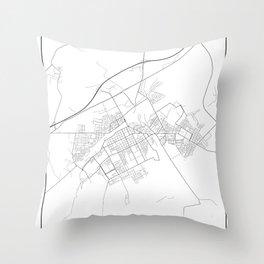 Minimal City Maps - Map Of Baranovichi, Belarus. Throw Pillow