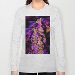 Delicate fractal grasses Long Sleeve T-shirt