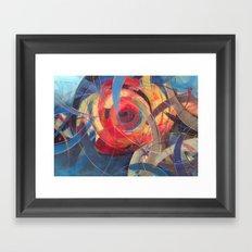 Tidal Bore Framed Art Print