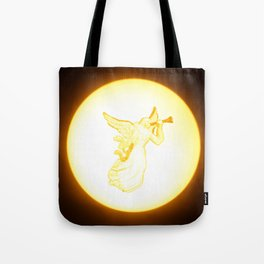 angel with herald trumpet Tote Bag