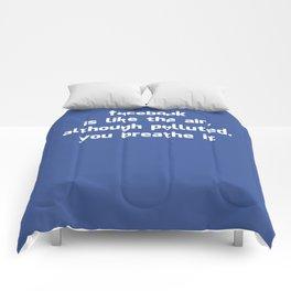 Poster Facebook Comforters