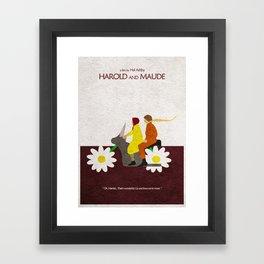 Harold and Maude Framed Art Print
