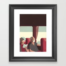 Day Trippers #1 - Arrival Framed Art Print