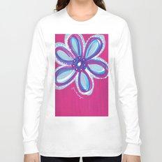 Dark Pink  Long Sleeve T-shirt