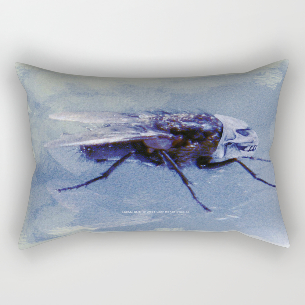 Satan Bug 005 Rectangular Pillow RPW813158