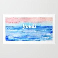 You&i Art Print