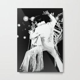 Elvis Presley metal print Metal Print
