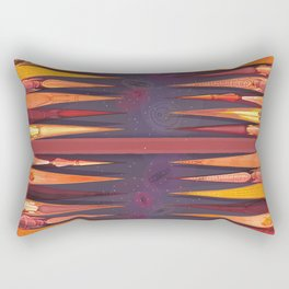 Backgammon Rectangular Pillow