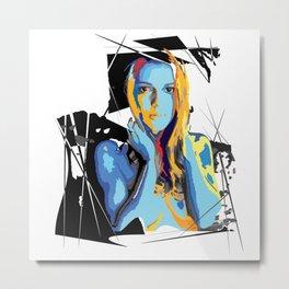 Pose no. 2 Metal Print