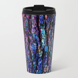 Afantasy Abstraction of Tree Bark Travel Mug
