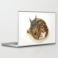 fawn Laptop & iPad Skins featuring Fawn by Sam Luotonen