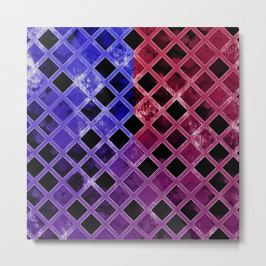 Abstract Geometric Background #5 Metal Print