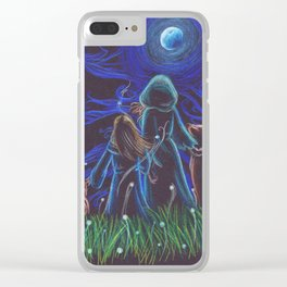 Spirit Guides Clear iPhone Case