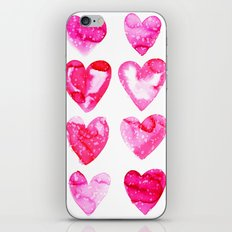 Heart Speckle iPhone Skin
