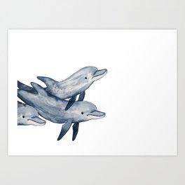 Bottlenose Art Print