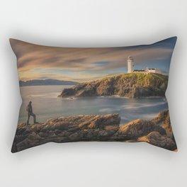 On The Rocky Outcrop Rectangular Pillow