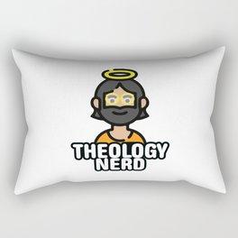 Theology Nerd Rectangular Pillow