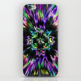 Colorful Tie Dye Abstract iPhone Skin