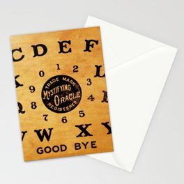 Ouija Board Stationery Cards