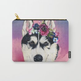 Flower Power  puppy Carry-All Pouch