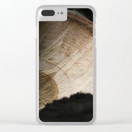 Log Clear iPhone Case