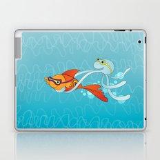 Goldfish & Octopus Laptop & iPad Skin