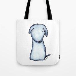 Puppy Blue Tote Bag