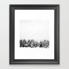 Tree Line Framed Art Print