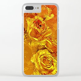 Inferno Clear iPhone Case