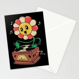 Vinyl Flower Stationery Cards