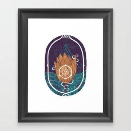 Pulsatilla Patens Framed Art Print
