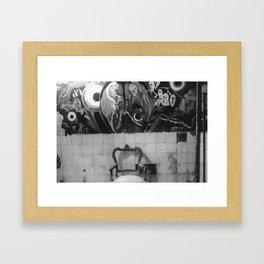 AMNESIA Framed Art Print