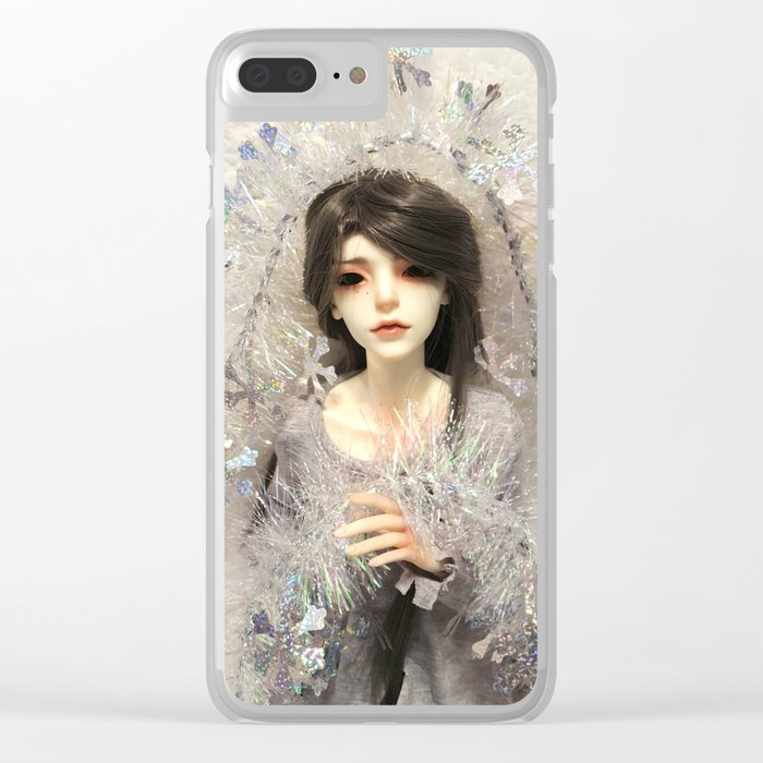 Kallias - Winter Snow Clear iPhone Case