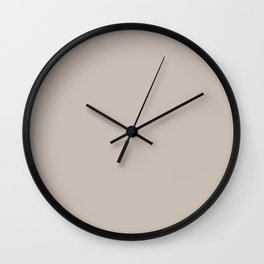 Gray Morn Wall Clock