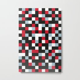 CHECKERBOARD Metal Print