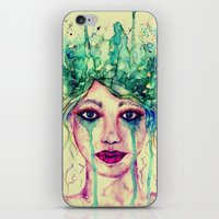 goddess iPhone & iPod Skins featuring Goddess by Misrella