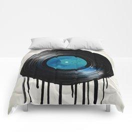 vinyl drip Comforters