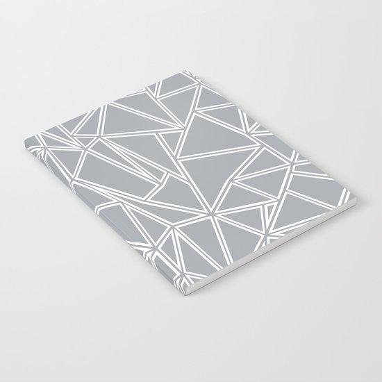 Ab Blocks Grey #2 Notebook