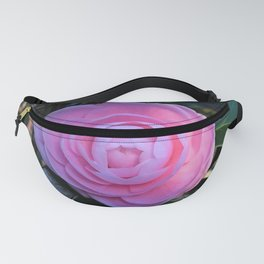 Pink Camellia Flower Blossom Fanny Pack