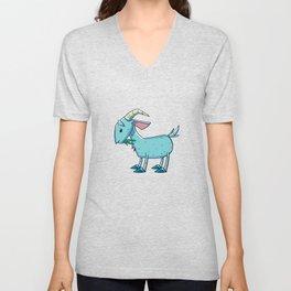 Goat Funny Unisex V-Neck