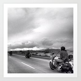 Desert Ride, Nevada Art Print