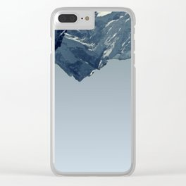 THE SKY IS CRUMBLING Clear iPhone Case